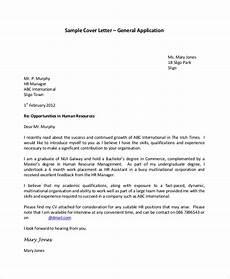 Cover Letter Sample For Applying Job Free 7 Sample Cover Letter For Job In Ms Word Pdf