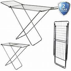 indoor clothes drying line 18m winged clothes airer laundry clothing dryer rack