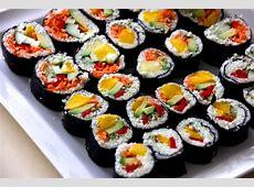 Joyful Sushi Rolls Raw Vegan Recipe   Joyful Fruitlovers