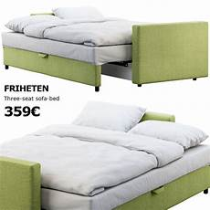 Sofa Bed Size 3d Image by 3d Ikea Friheten Sofa Bed Cgtrader