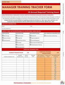 Training Tracker Arkansas Manager Training Tracker Form Download Fillable
