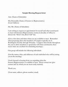 Sample Letter Requesting A Meeting Sample Meeting Request Letter In Word And Pdf Formats