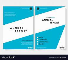 Report Cover Templates Annual Report Cover Design Template Royalty Free Vector