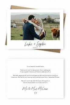 Wedding Thank You Card Examples 10 Wording Examples For Your Wedding Thank You Cards