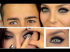 Light Brown Contact Lenses For Dark Eyes Coloured Cosmetic Contact Lenses Review Desio Youtube