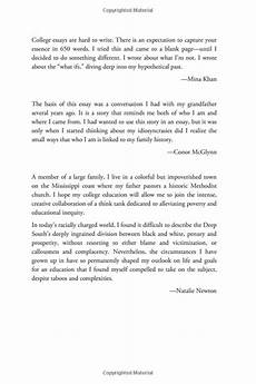 Essays College New Vision Learning Best College Essays 2016 Ebook