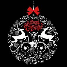 Black And White Christmas Graphics Black And White Christmas Ball Stock Vector Colourbox
