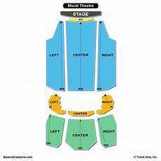 Murat Theater Seating Chart Murat Theatre At Old National Centre Seating Chart