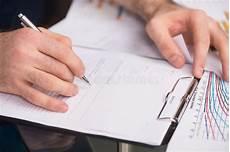 Writing Documents Writing Documents Stock Image Image Of Businessman