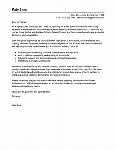 Social Services Cover Letter Examples Cover Letter Example Cover Letter Example Social Services