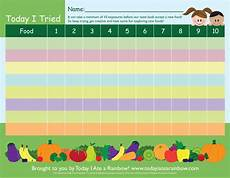 Food Chart For Kids The Today I Tried Chart