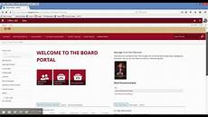 Sharepoint 365 Templates Sharepoint Office 365 Board Portal Template Youtube