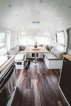 luxury airstream renovation reveal before and after
