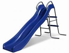 Blue Slides Slippery Slide Outward Play