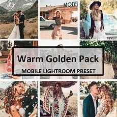 Lightroom Presets Warm Light 3 Warm Amp Golden Mobile Preset Pack Mobile Lightroom