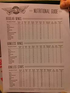 Tgif Nutritional Chart Buffalo Wild Wings Nutrition Facts Boneless Nutritionwalls