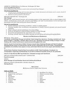 Disney Resume Disney Resume