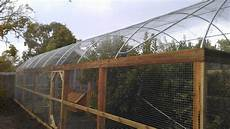 Chicken Shed Designs Australia Hooped Run With Chicken House Amp Fruit Trees Designed