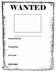 Wanted Poster Template For Pages Wanted Poster Template By Miss Db Teachers Pay Teachers