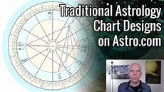 How To Make Your Astrological Chart Traditional Astrology Chart Designs On Astro Com Youtube
