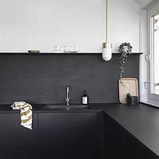 black kitchen backsplash kitchen upgrade the low cost diy black backsplash