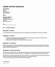Covering Letter Template Word 10 Cover Letter Templates And Examples Free Word Pdf