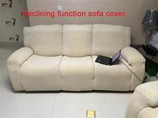 Cover Reclining Sofa 3d Image by Slipcover Reclining Function Sofa Cover Can Shake Slip