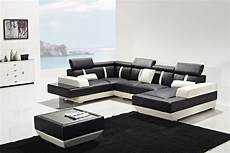 Modern Leather Sofa 3d Image by T286 Modern Leather Sectional Sofa
