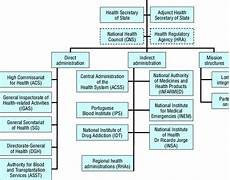Rural Hospital Organizational Chart 2 Organizational Chart Of The Ministry Of Health