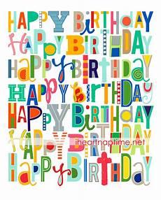 Happy Birthday Cards To Print Free Free Happy Birthday Printable I Heart Nap Time