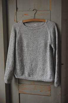 silk gray pullover by gralina frie free knitted pattern