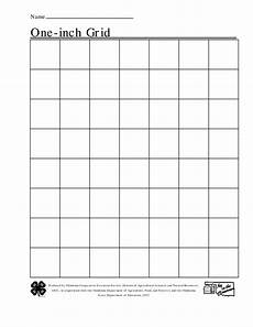 1 Inch Graph Paper Template Free Printable 1 Inch Grid Paper With Images Printable