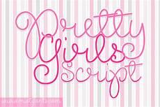 Girl Fonts Pretty Girls Script