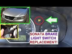 2009 Hyundai Sonata Esc Light How To Replace The Brake Light Switch On Hyundai Sonata