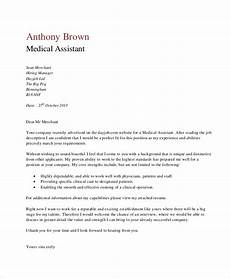 Clinical Assistant Cover Letter Free 6 Cover Letter Medical Assistant In Ms Word Pdf