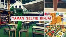 selfie di rumah taman selfie binjai lokasi paling kren berselfi ria