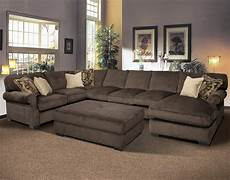 12 photo of large sectional sofas