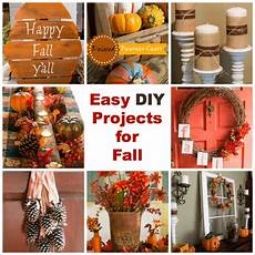 diy projects fall easy diy projects for fall
