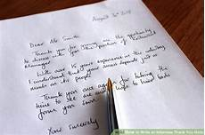 Thank You Card For Job Interview How To Write An Interview Thank You Note With Examples