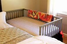 our diy co sleeping crib