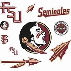 Florida State Seminole Designs Florida State Seminoles Logo Assortment Large