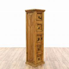 narrow rustic pine chest of drawers pine chests