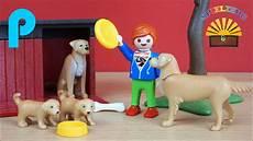 Playmobil Ausmalbilder Hunde Golden Retriever Mit Welpen 6134 Playmobil Country