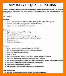 Qualification On A Resumes 5 Resume Qualifications Summary Ledger Review