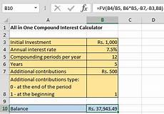 Monthly Compound Interest Formula Compound Interest Formula And Excel Calculator The