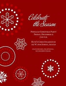 Holiday Party Invitations Template Holiday Invitation Templates Graphics And Templates