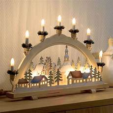 Arch Lights Advent Candle Arch Christmas Village 57 Cm Lights Ie