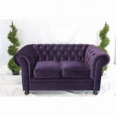 Purple Sleeper Sofa Png Image by Purple Velvet Chesterfield Style 3 Seat Sofa Sofa Hire