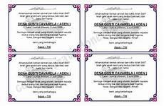 contoh undangan aqiqah untuk orang tua contoh isi undangan