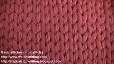 knit stitches stokinett stitch knit stitch knitting lesson